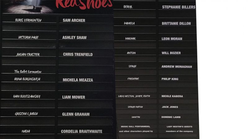 red shoes cast
